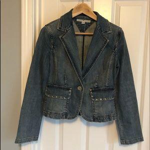 Tommy Hilfiger fitted denim jacket